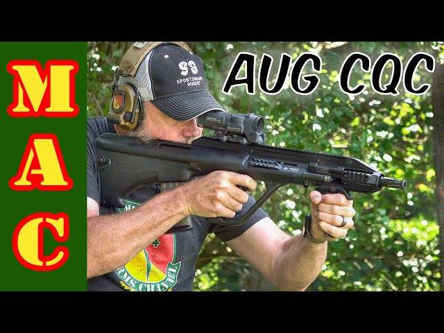 the most desirable aug - steyr aug a3 cqc