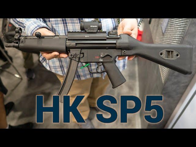 the new heckler & koch sp5 at shot show