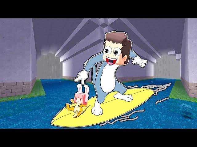【木鱼】迷你世界: 鱼玲扮演汤姆杰克,穿越各种密室,互帮互助逃出生天!