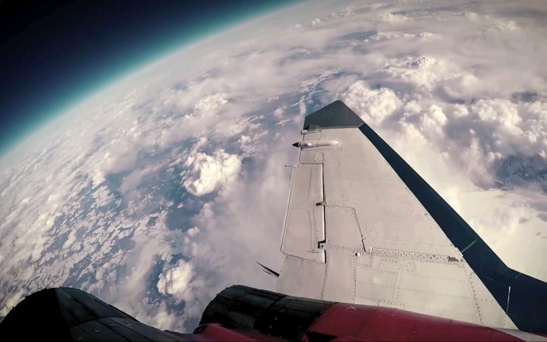 【航空】米格-29战斗机17250m高空飞行