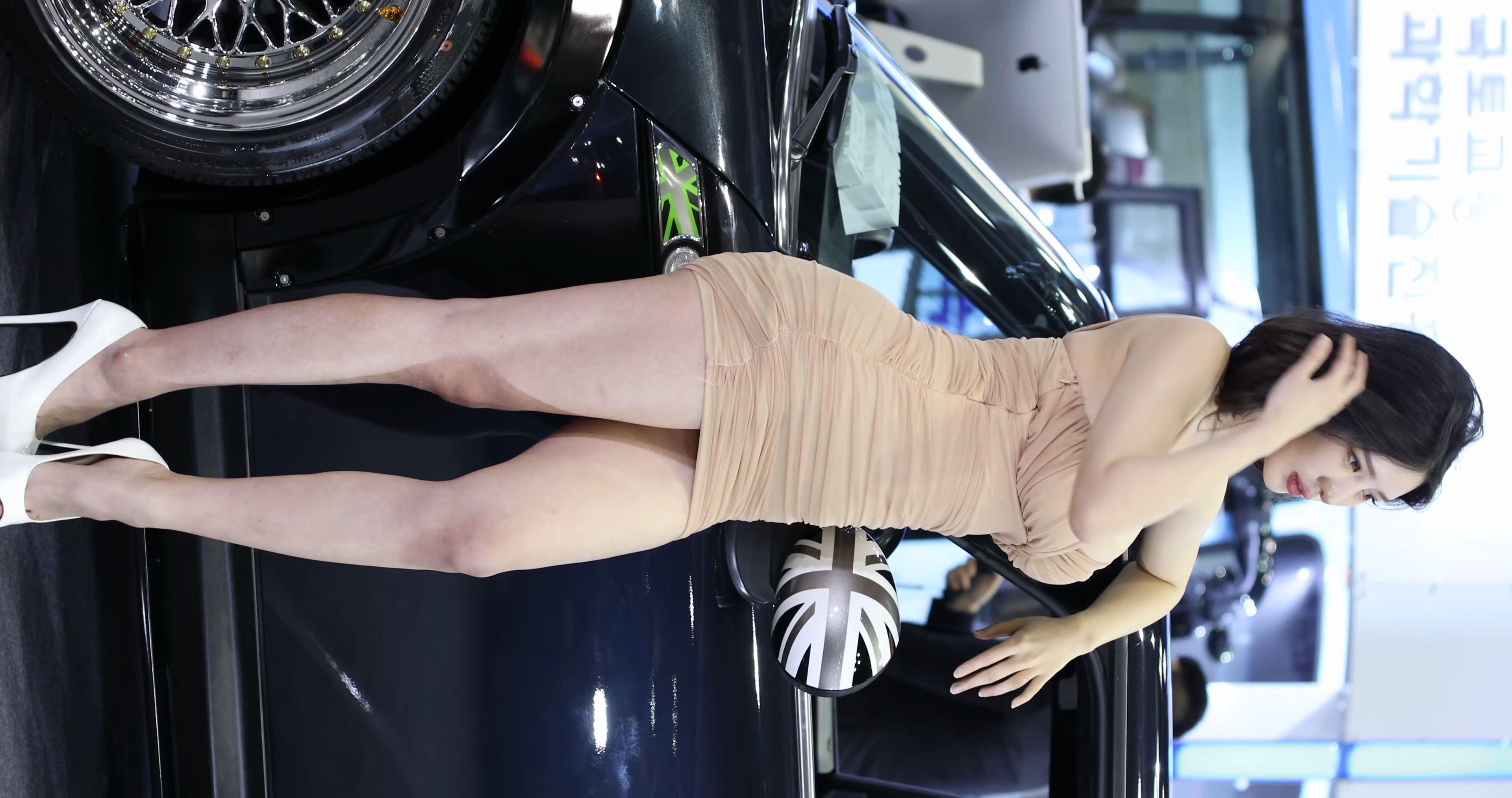 2020 韩国车模现场直拍 Racing Model Model Song Joo Ah
