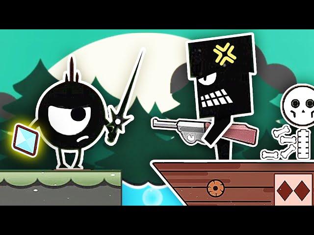 小黑的寶藏 我組裝出壹把機槍,直接把海盜船射沈了!小熙解說