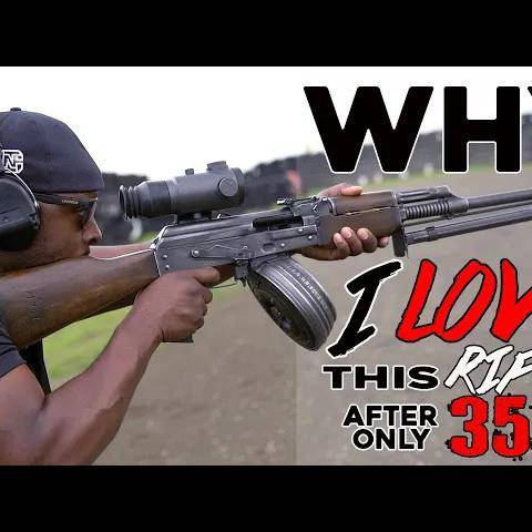 why i fell in love w/ this rifle after only 35 rounds
