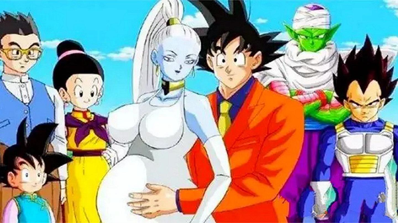 龙珠: 孙悟空成为神后, 娶了天使一族的芭朵斯, 孩子出生就是白神
