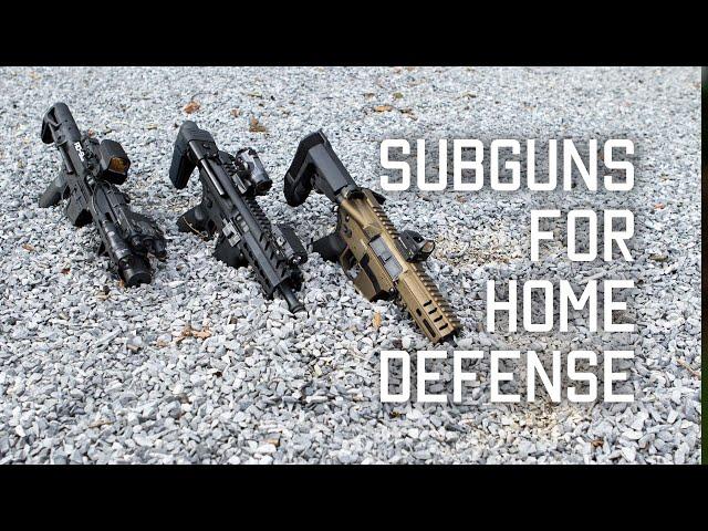 subgun for home defense   tactical rifleman