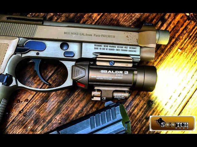 olight baldr rl light / red laser wml review