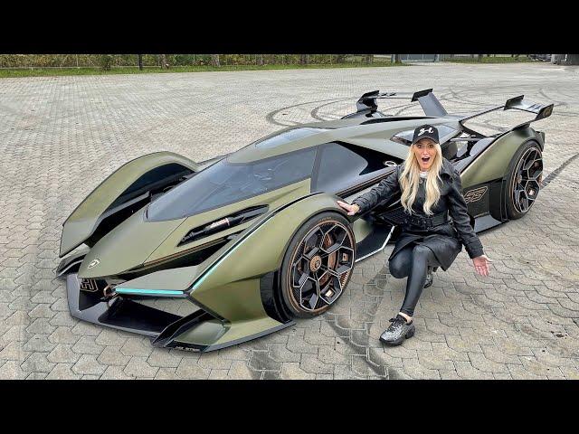 the world s most insane car!lamborghini vision gt