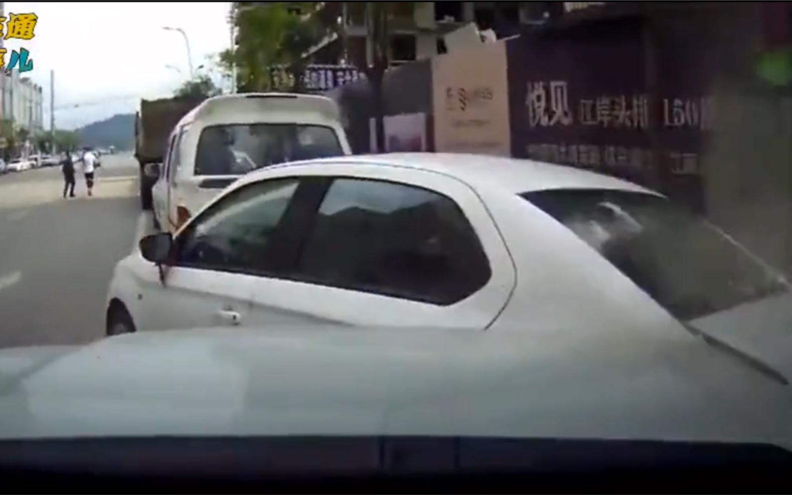 交通事故合集: 女司机美好的一天就这么被毁了