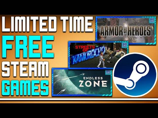 limited time free games on steam - you should probably add these to your library