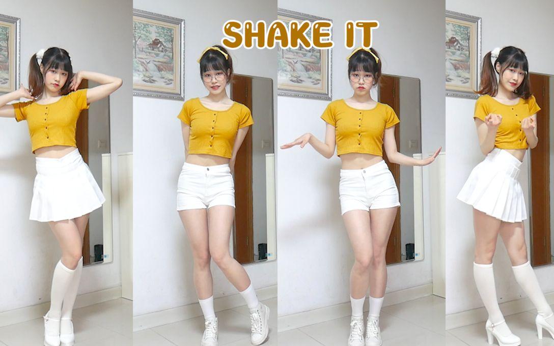 【容让】单马尾活力满满我爱了 ♡ SHAKE IT - SISTAR