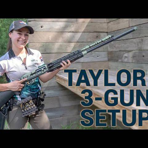 taylor thorne s setup for 3-gun competition and uspsa