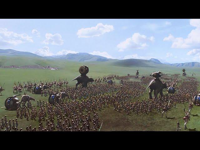 星球大战前传: 冈根大军征战机械军团,这才叫史诗级大场面!
