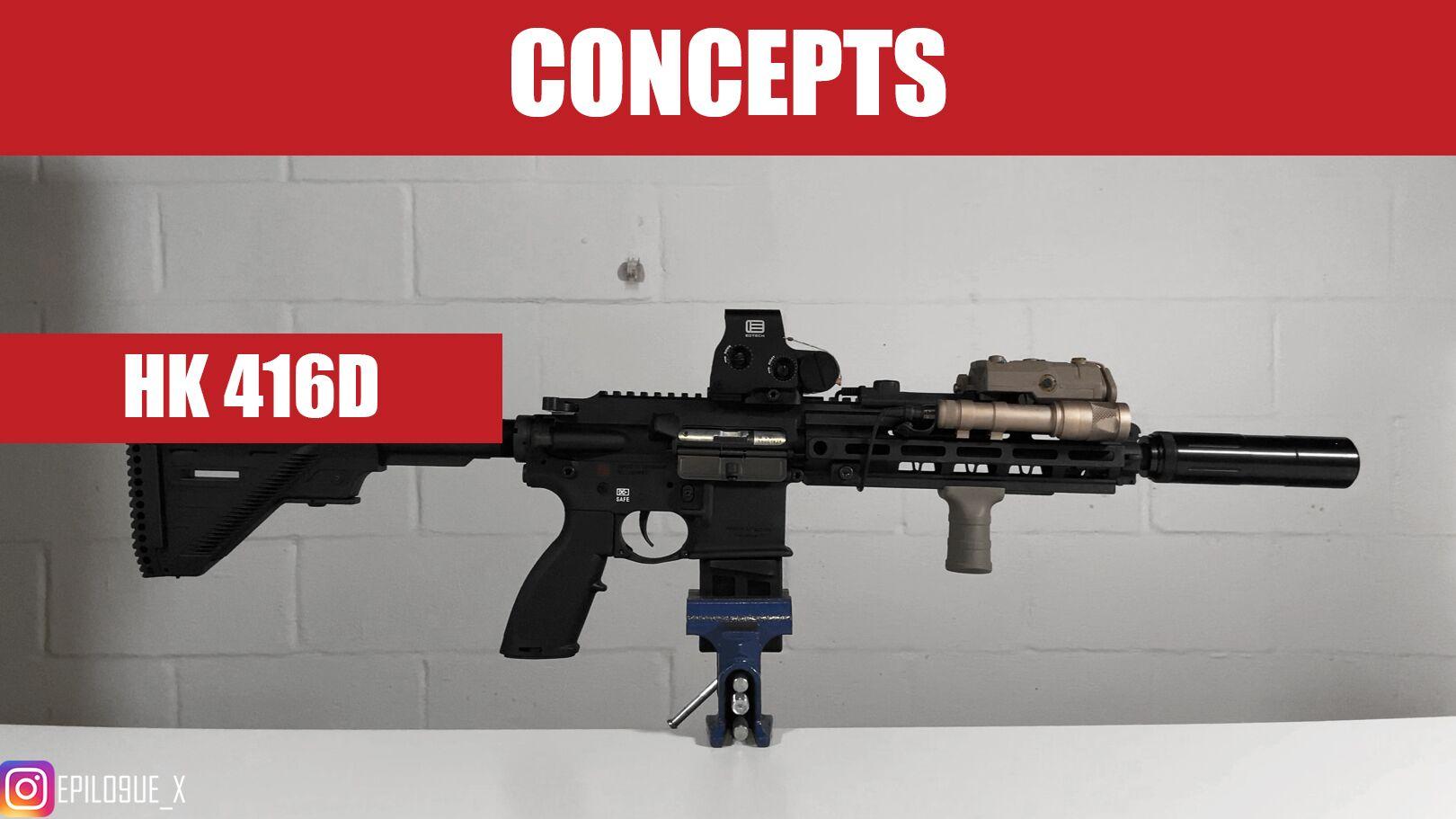 【海外真铁】400刀的HK416?CAG同款?Heckler & Kock HK416D 介绍&评测