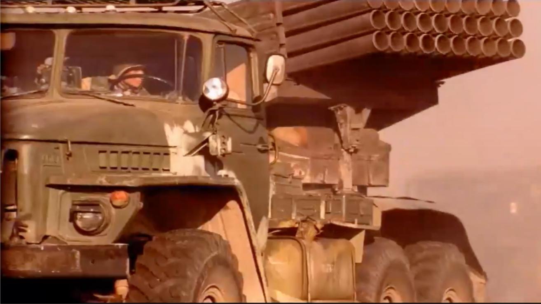 突击队: 俄军惨战至弹尽粮绝, 火箭炮霸气齐射火力支援, 精彩绝伦