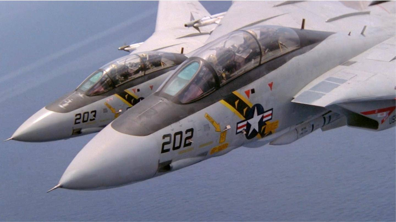 【迫真抗日神剧】美军核动力航母玩穿越 F-14雄猫大战零式战机