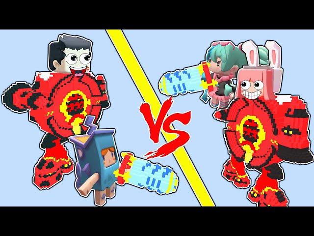 【木鱼】迷你世界: 趣味对战地图,蛋蛋机甲大乱斗!
