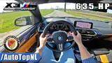 635hp bmw x3m competition | manhart mhx3 | *loud* pov test drive by autotopnl