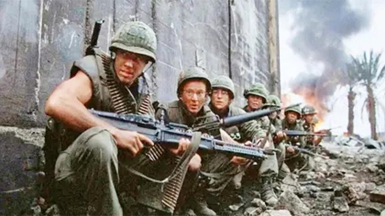 金属: 这才叫真实残酷战争, 越南女兵大杀四方, 碾压整个美军小队