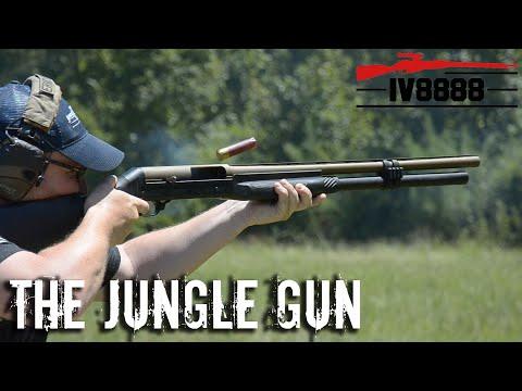 benelli sbe  the jungle gun