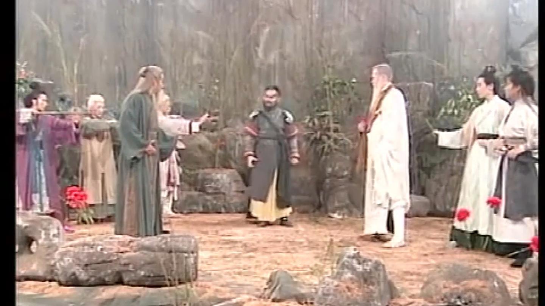 神雕: 华山五绝大战金轮法王, 不着调的周伯通要学金轮法王的武功