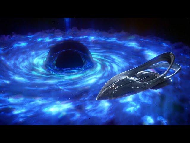 硬核科幻剧奥维尔号,飞船穿过太空虫洞,来到400年后的宇宙