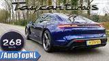 761hp porsche taycan turbo s | acceleration top speed & launch control by autotopnl