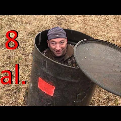 how would you use a giant metal drum