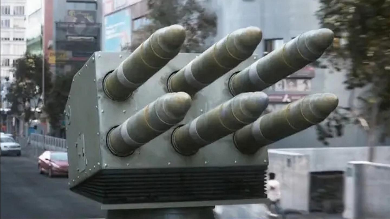 战神: 不愧是经典科幻猛片, 精确制导导弹疯狂发射, 全程震撼残暴