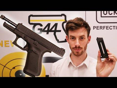 testing the new glock g44 - 22lr.