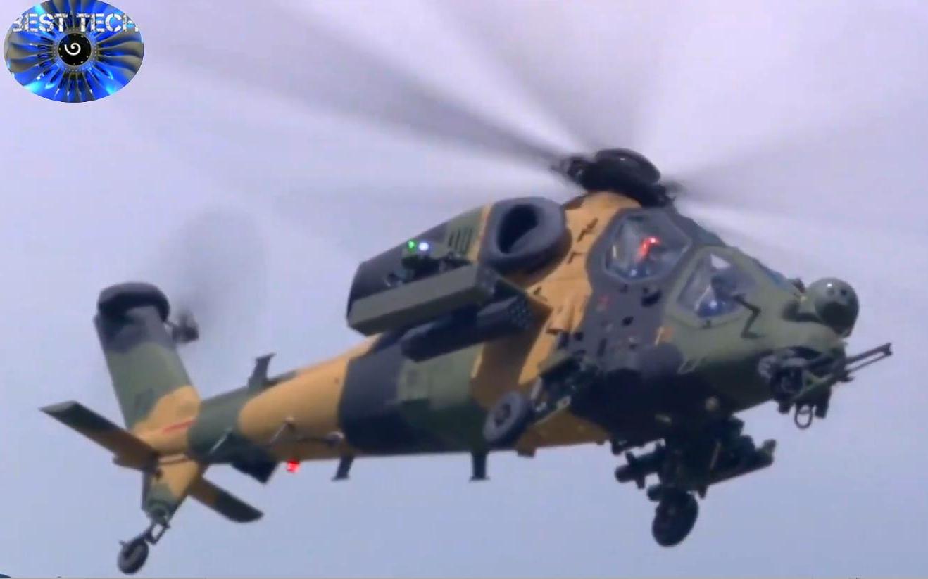 【巴黎航展-2019】土耳其陆军 — T-129A武装直升机(2019/6)