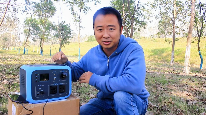 开箱超级充电宝, 户外能供电还能发电