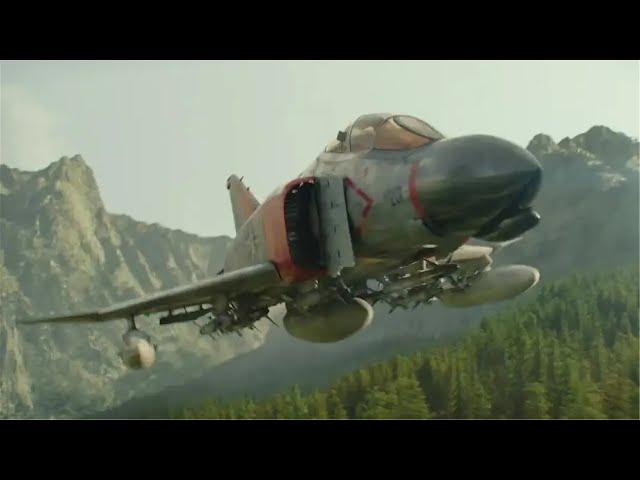 战斗机公然闯入美国腹地,没等军队反应,就开始变身战斗!