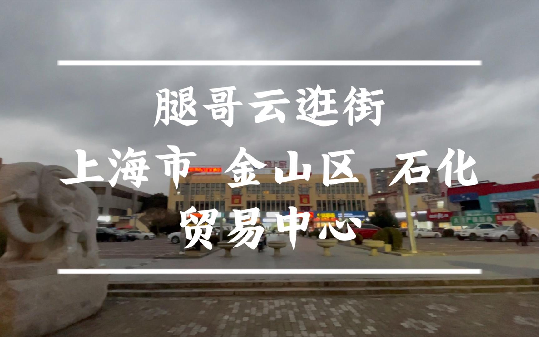 【腿哥云逛街】东海明珠 上海市 金山区 贸中(贸易中心)