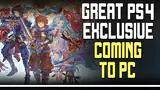 another ps4 exclusive revealed for pc + new steam sale!