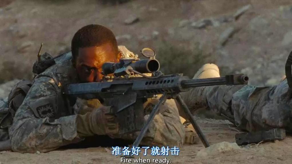 经典的战争猛片, 美军拆弹小队遭狙击手伏击, 惊心动魄的狙击对轰