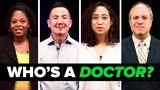 which of these people is a real doctor?