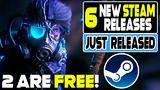 6 new steam games that just released - 2 new free games,metroidvania + more