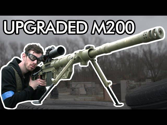 fully upgraded m200 cheytac
