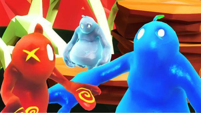 小熙&屌德斯 红蓝小人大冒险 爆笑兄妹搞笑互坑气到掀桌