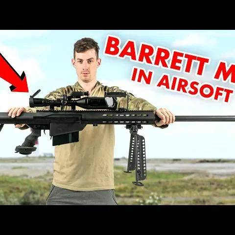 anti material sniper rifle in airsoft