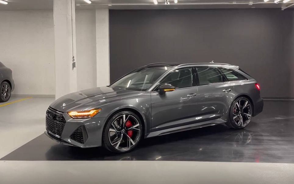 2021 Audi RS6 Avant (C8) 静态展示 (Frank Holand Automotive)