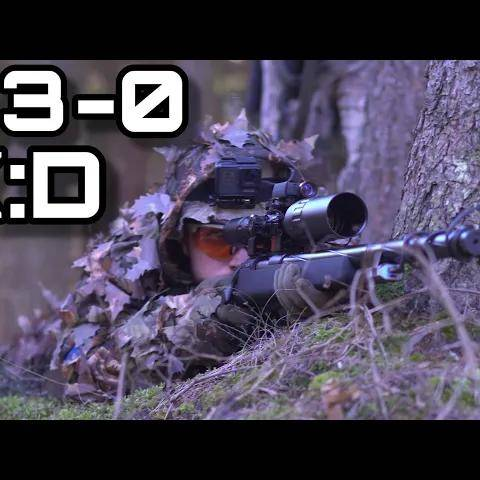 insane airsoft sniper team destroy everyone without dying!