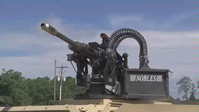 陆军实弹30毫米车辆武器演示