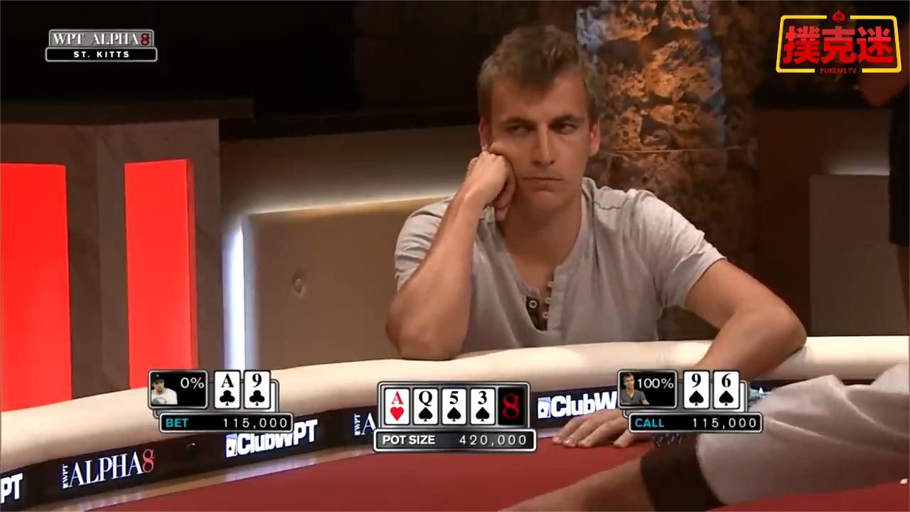 德州扑克: 夺冠还是要靠一点运气啊!
