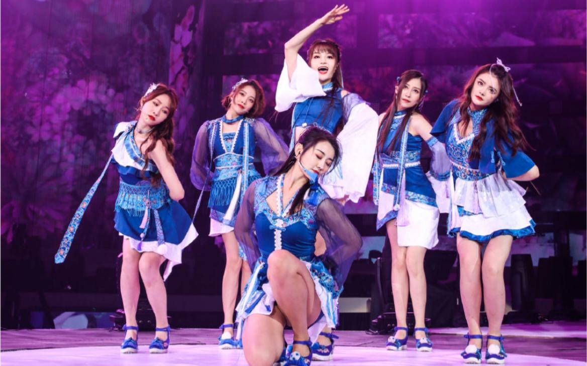 【SING女团】TMEA腾讯音乐娱乐盛典《解梦》现场 年度国风新势力获奖感言