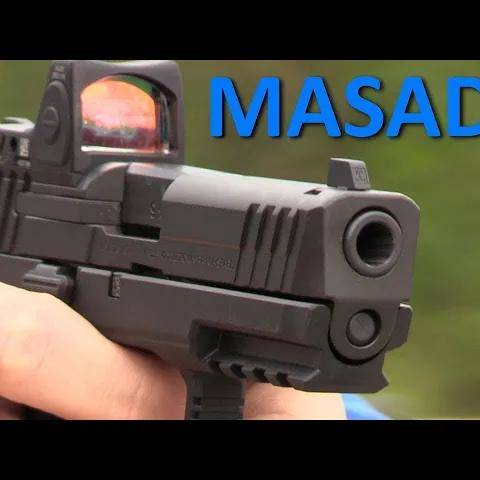 iwi masada optics ready modular pistol: the israeli glock