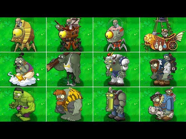 plants vs zombies 2 final boss - all zomboss fight!