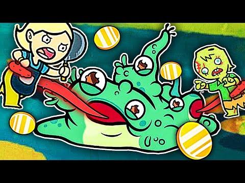 變異青蛙 我是青蛙妳信嗎?我變異成了三頭六臂小哪咤!小熙解說