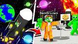 how to fly to the moon in minecraft!