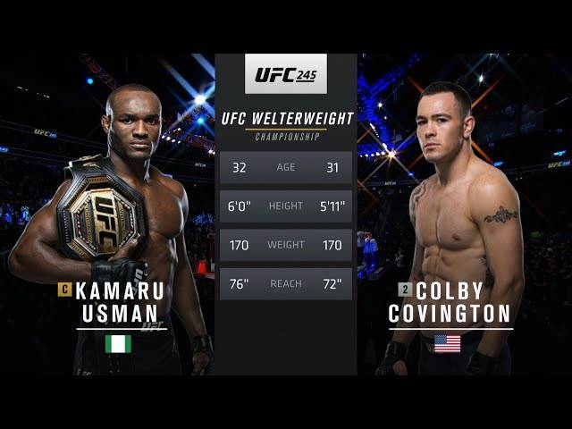 ufc 251 free fight: kamaru usman vs colby covington